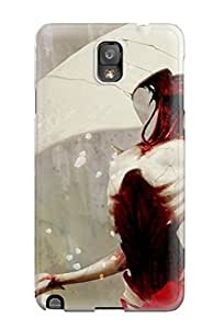CZPeAHB15867jjvFj Case Cover The Triangle Woman Galaxy Note 3 Protective Case