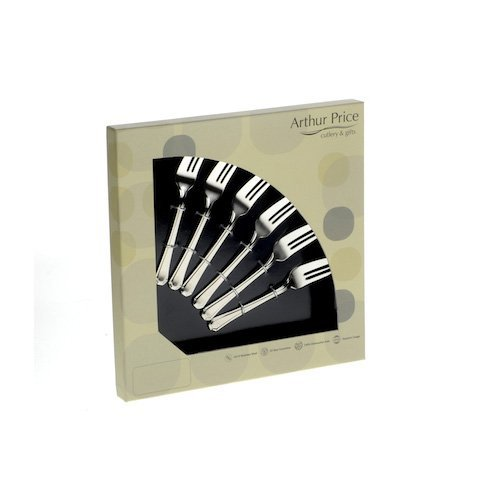 Arthur Price Classic Kings Set of 6 Pastry Forks ZKIS0131