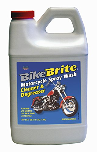 Bike Brite MC44R Motorcycle Spray Wash Cleaner and Degreaser - 64 fl. oz.