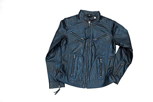 Gorgeous Collection - Abrigo - para mujer azul petróleo