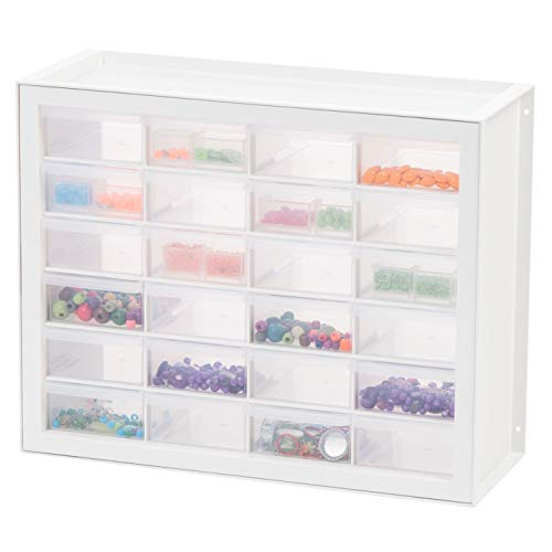 IRIS USA, Inc. DPC Drawer Sewing and Craft Parts Cabinet White
