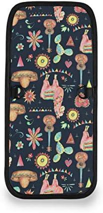 トラベルウォレット ミニ ネックポーチトラベルポーチ ポータブル メキシコ 水彩 サボテンリトル アルパカ 小さな財布 斜めのパッケージ 首ひも調節可能 ネックポーチ スキミング防止 男女兼用 トラベルポーチ カードケース