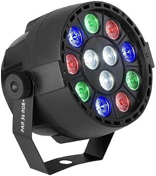 Acoustic Control Luces Disco. Proyector led PAR 36 RGB + W Foco ...