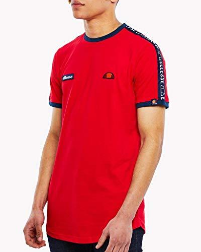 Ellesse Uomo Nero T shirt Red Fede OrSrqw