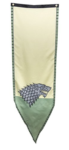 Game of Thrones- Stark Winterfell Tournament Banner Fabric Poster 19 x 60in -