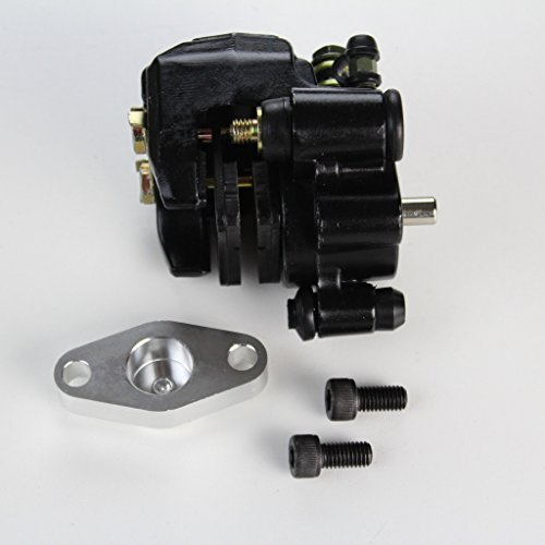 Yamaha Warrior 350 Rear Brake Caliper Assembly with Pads 1987-2004 by NICHE (Image #4)