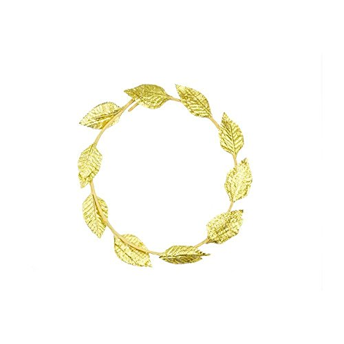 Olympic Games Themed Costumes (Mytoptrendz 1 Pcs Roman Greek God Goddess Laurel Wreath Headpiece Toga Fancy Dress Costume Party ( - 1 Piece))