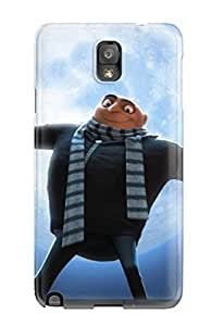 New Snap-on CaseyKBrown Skin Case Cover Compatible With Galaxy Note 3- Gru In Dispicable Me