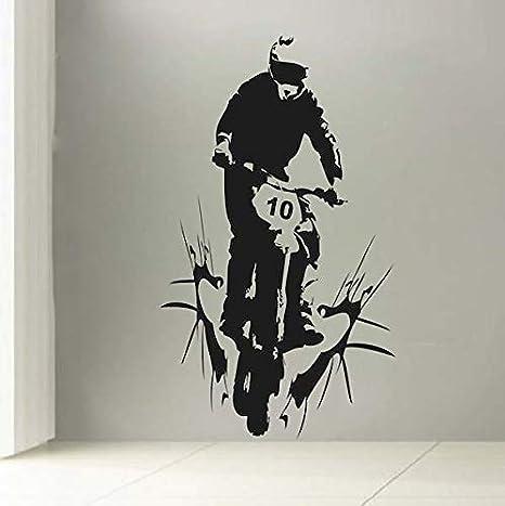 Ajcwhml Pegatinas de Pared Personalizadas para Bicicletas ...