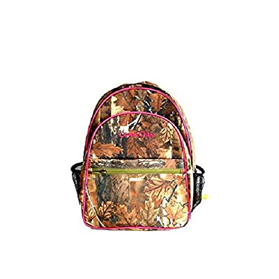 Deluxe Large Backpacks Oakwood Outdoors Camo Weather Resistant Multipocket Schoolbag/backpack free shipping