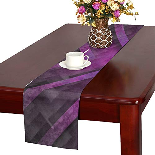 Jnseff Motif Design Art Color Table Runner, Kitchen Dining Table Runner 16 X 72 Inch For Dinner Parties, Events, Decor by Jnseff (Image #2)