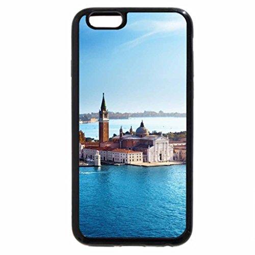 iPhone 6S / iPhone 6 Case (Black) View of San Giorgio Maggiore San Marco. Italy