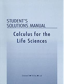 Calculus with applications for the life sciences raymond n student solutions manual for calculus with applications for the life sciences fandeluxe Gallery
