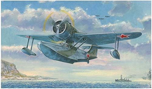マーズモデル 1/48 第二次世界大戦 ソ連海軍 ベリエフ Be-4 偵察飛行艇 プラモデル MAR48003