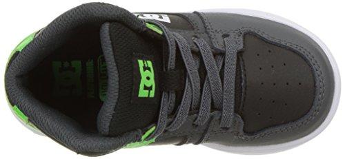 White Sneaker Grey Rebound Green DC q6wpxp