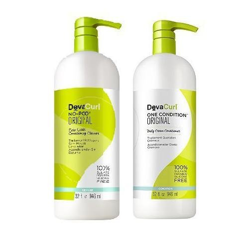 Devacurl Original Duo No Poo And One Condition 32 Fl Oz