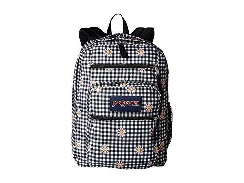 JanSport Big Student Backpack - Gingham Daisy Floral