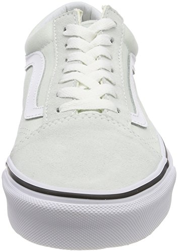 Blue Flower Old True Q6l Vans de Vert Taille White Bleu Unique Femme Chaussures Running Skool vP1xPwS