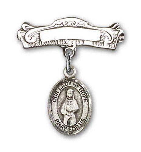 Icecarats Créatrice De Bijoux En Argent Sterling O / L De Charme De L'Espoir Pin Badge Arc 7/8 X 7/8