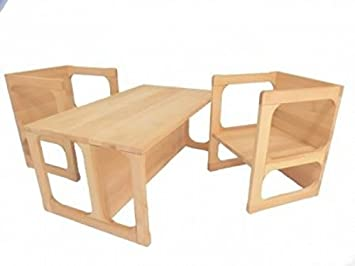 Holzspielzeug Peitz Kinder Wendemöbel Set 8038 Kindergarten Möbel