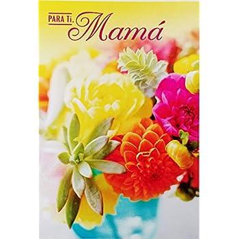 Amazon.com: Muchas Felicidades Mamita Feliz Cumpleanos Mama ...