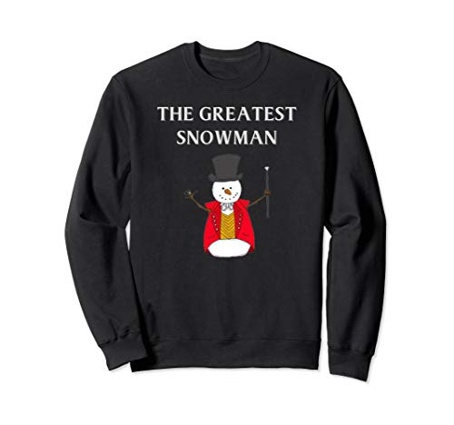 Frosty Abominable Greatest Snowman Hat Christmas Shirt ()