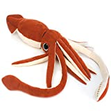 VIAHART Shubert The Squid | 34 inch Large Stuffed Animal Squid | by Tiger Tale Toys