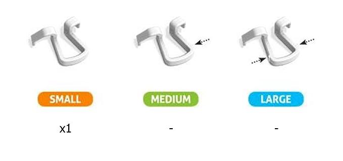 Dilatador Nasal Antironquido, Dispositivo Anti Ronquidos para una Mejor Respiración y para el Deporte - Probado por el Comité Olímpico Italiano - Made in ...