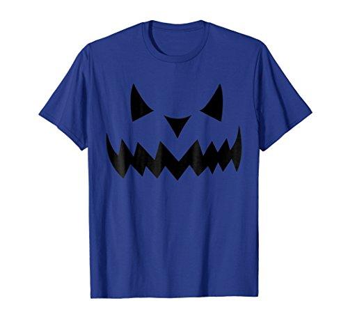 Pumpkin Face Halloween Costume Funny T-Shirt