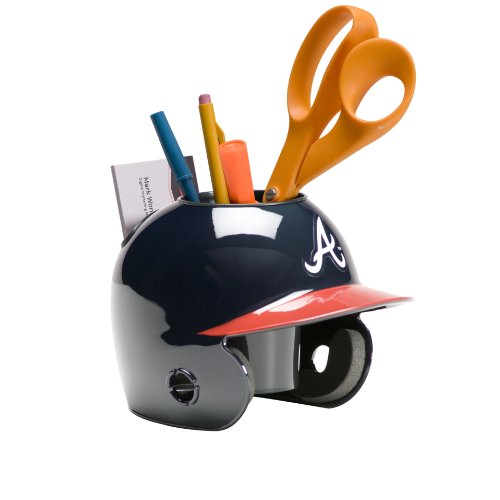 Schutt MLB Atlanta Braves Desk Caddy