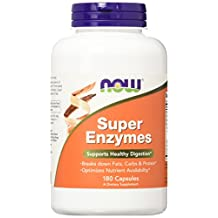 Super Enzymes Supports Healthy Digestion 180 Capsules
