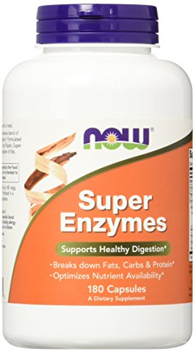 NOW Super Enzymes 180 Capsules product image