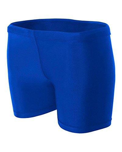 Royal Blue Ladies Small Volleyball Ball Shorts