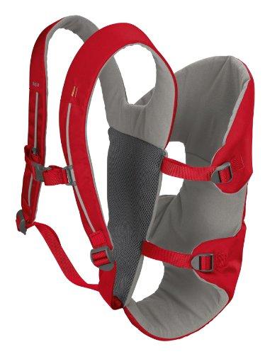 Vaude Koala Child Carrier, Red, Outdoor Stuffs
