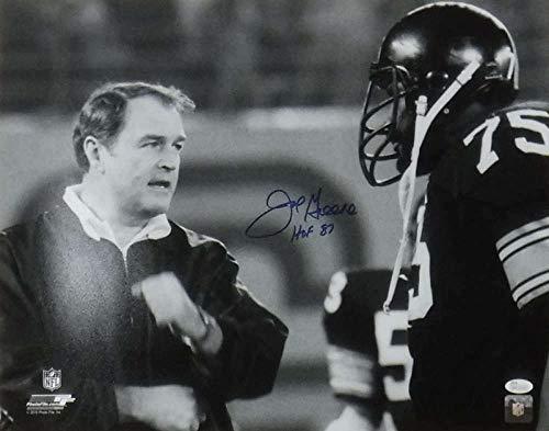 Joe Greene Autographed/Signed Pittsburgh Steelers 16x20 Photo HOF JSA