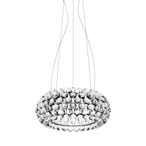 Modern Caboche Style Medium Size Dia50cm Clean Acrylic Ball Pendant Light