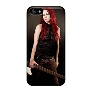 Protective Hard Cell-phone Cases For Iphone 5/5s With Unique Design Attractive Coal Chamber Band Skin SherriFakhry