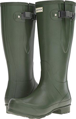 Hunter Men's Norris Field Adjustable Vintage Green Boot