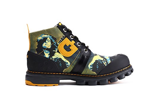 Dr Act Canvas Music Boots Olive Man Act Walking Mens Mens Dr Music Man qt6AOO