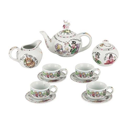 Cardew Design Alice in Wonderland Miniature Collector's Tea Set (Hall Porcelain Teapot)