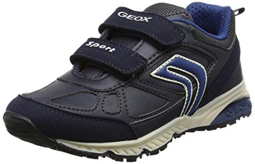Geox Bernie C, Zapatillas Para Niños Azul (Navy/blue)