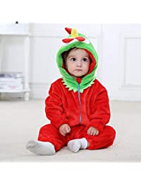 Children's Clothes Flannel Animal Shape Crawling Clothes Newborn Clothing Pajamas Robe