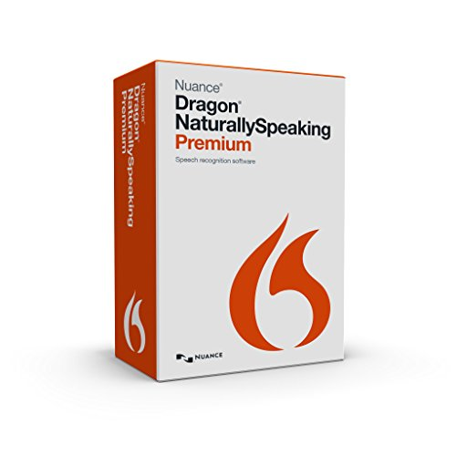Nuance Dragon NaturallySpeaking Premium 13 (Discontinued) (Upgrade Windows 7 Home Basic To Professional)