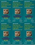 MAJOR INFANTS GAS RELIEF DROPS DYE-FREE SIMETHICONE ORAL SUSPENSION 30ML EACH (PACK OF 6) by MYLICON DROPS