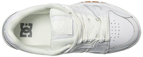 Wg5 White STAG DC Sneaker Shoes Uomo XAORXw8x