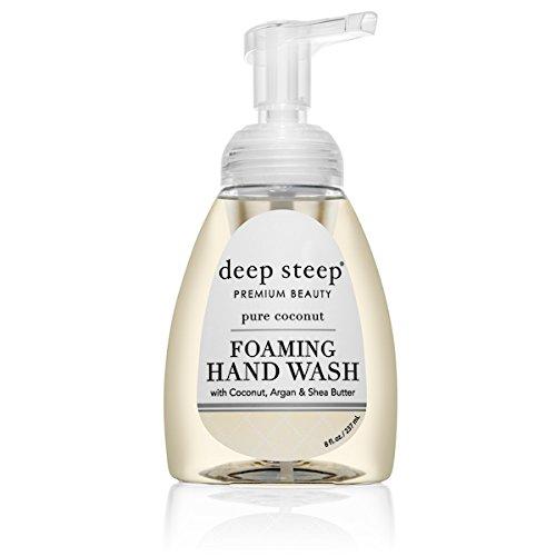 Deep Steep Foaming Hand Wash, 8 Ounce (Pure (Hand Wash Coconut)