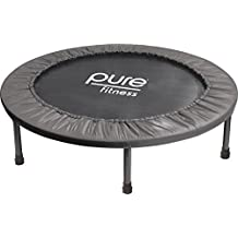 "Pure Fitness 38"" Mini Rebounder Trampoline, Ages 13+"