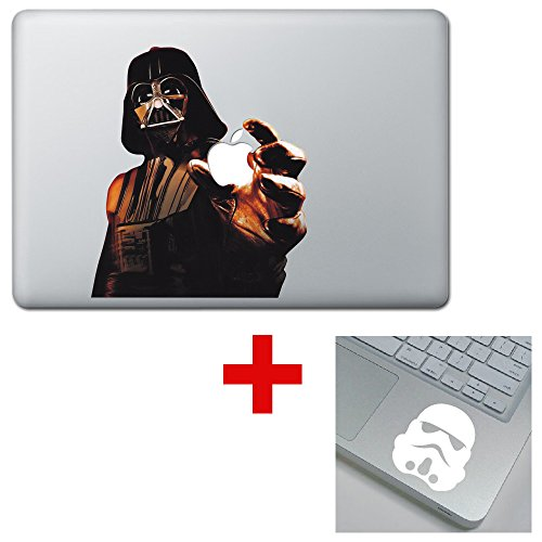 Price comparison product image The Force Awakens Star Wars Darth Vader COLORED Macbook Laptop Decal Sticker
