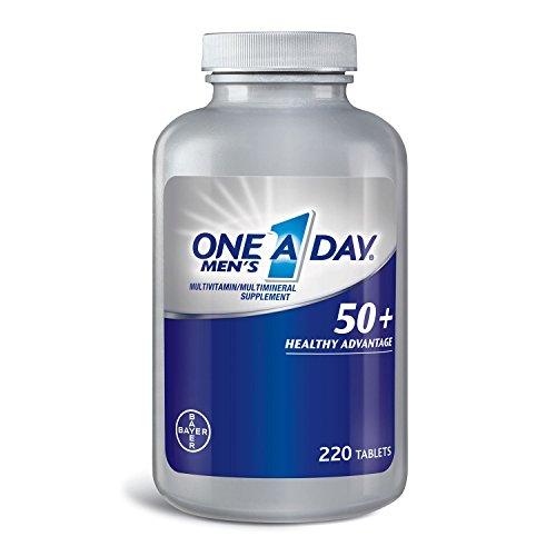 (One A Day Men's 50+ Healthy Advantage Multivitamin (220))