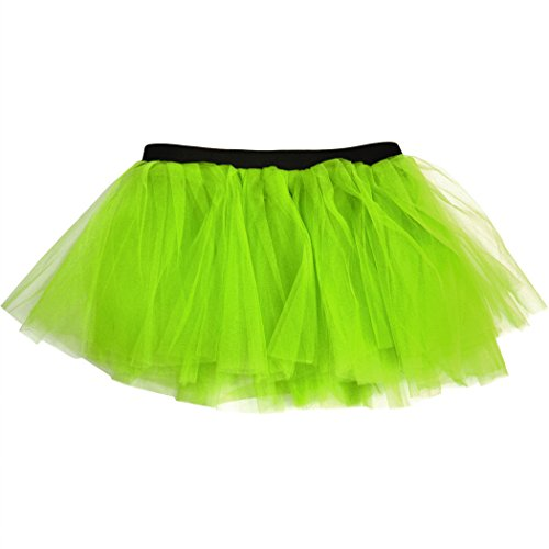 Run Green - Runners Tutu by Gone For a Run | Lightweight | One Size Fits Most | Neon Green